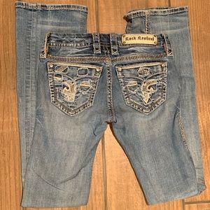Like NEW Rock Revival jeans 25